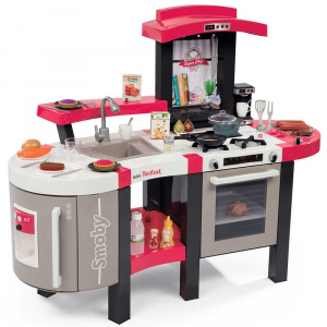Bucatarie Smoby Tefal Super Chef Deluxe cu grill si aparat de cafea0