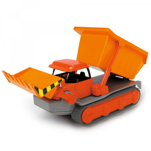 Buldozer Dickie Toys Bob Constructorul Action Team Muck cu 1 figurina Leo [3]