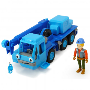 Camion Dickie Toys Bob Constructorul Action Team Lofty cu 1 figurina Wendy [0]