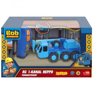 Camion Dickie Toys Bob Constructorul Lofty cu telecomanda4