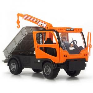 Camion Dickie Toys Playlife M.T. Ladog Service Set cu figurina si accesorii5