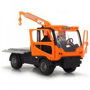 Camion Dickie Toys Playlife M.T. Ladog Service Set cu figurina si accesorii4