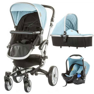 Carucior Chipolino Angel 3 in 1 blue mist0