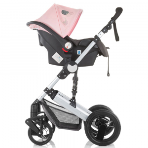 Carucior Chipolino Terra 3 in 1 rose pink10