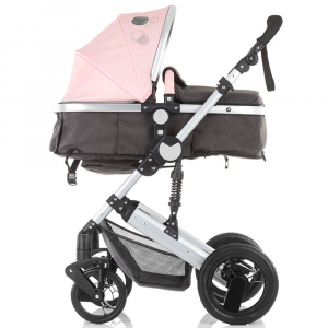 Carucior Chipolino Terra 3 in 1 rose pink9