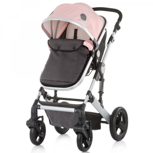 Carucior Chipolino Terra 3 in 1 rose pink7