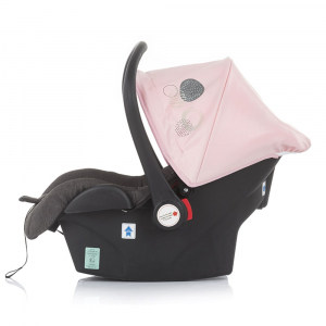 Carucior Chipolino Terra 3 in 1 rose pink12