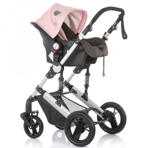 Carucior Chipolino Terra 3 in 1 rose pink3