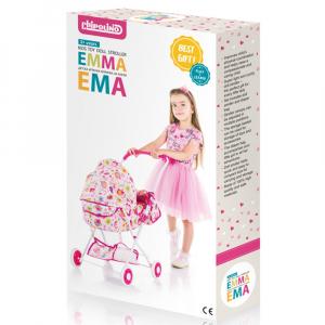 Carucior pentru papusi Chipolino Emma litte hearts [4]