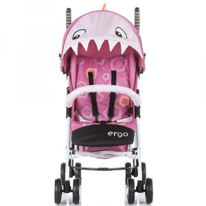 Carucior sport Chipolino Ergo pink baby dragon3
