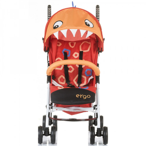 Carucior sport Chipolino Ergo red baby dragon3