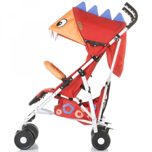 Carucior sport Chipolino Ergo red baby dragon1
