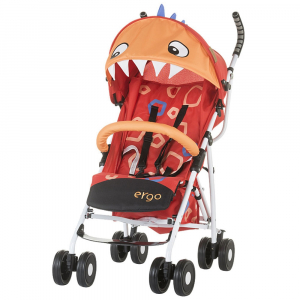 Carucior sport Chipolino Ergo red baby dragon0