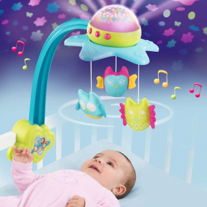 Carusel muzical Smoby Cotoons Star 2 in 15