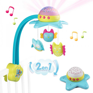 Carusel muzical Smoby Cotoons Star 2 in 10