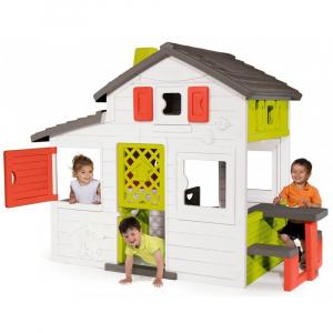 Casuta pentru copii Smoby Friends Playhouse cu bucatarie1