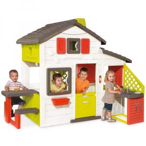Casuta pentru copii Smoby Friends Playhouse cu bucatarie0