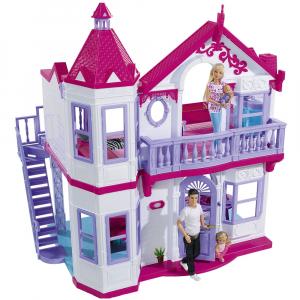Casuta pentru papusi Simba Steffi Love My Dreamhouse cu accesorii0