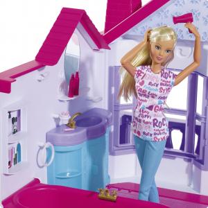 Casuta pentru papusi Simba Steffi Love My Dreamhouse cu accesorii3