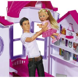 Casuta pentru papusi Simba Steffi Love My Dreamhouse cu accesorii2