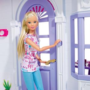 Casuta pentru papusi Simba Steffi Love My Dreamhouse cu accesorii7