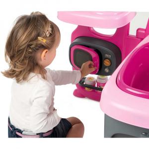 Centru de ingrijire pentru papusi Smoby Baby Nurse Doll`s Play Center roz cu 23 accesorii [3]