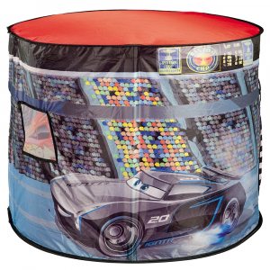 Cort de joaca John Cars cu lampa 110x87x75 cm [1]