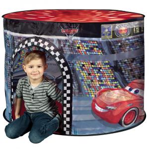 Cort de joaca John Cars cu lampa 110x87x75 cm [3]