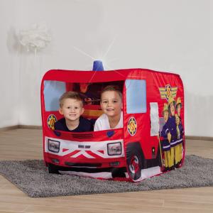 Cort de joaca John Fireman Sam Fire Truck Sam cu girofar 100x70x75 cm [4]