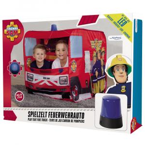 Cort de joaca John Fireman Sam Fire Truck Sam cu girofar 100x70x75 cm [11]