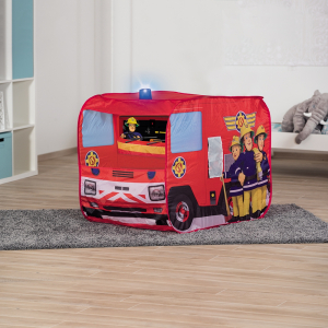Cort de joaca John Fireman Sam Fire Truck Sam cu girofar 100x70x75 cm [9]
