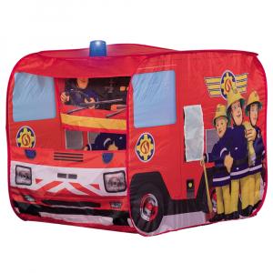 Cort de joaca John Fireman Sam Fire Truck Sam cu girofar 100x70x75 cm [0]