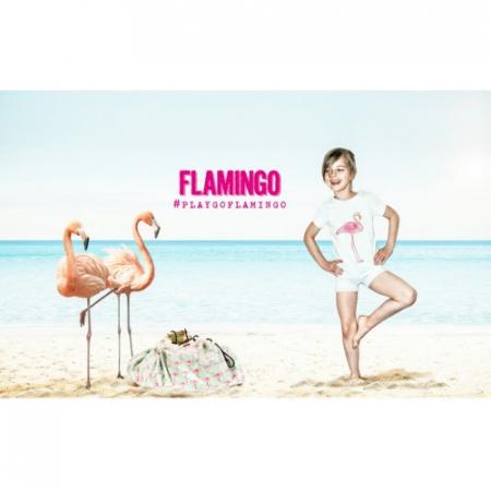 Covor joaca si organizator jucarii Flamingo3