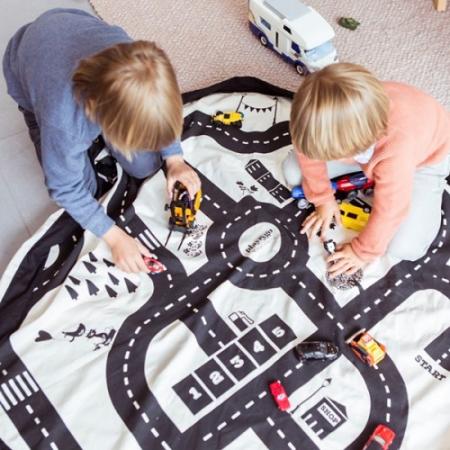 Covor joaca si organizator jucarii Roadmap1