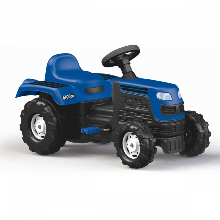DOLU Tractor cu pedale - albastru0