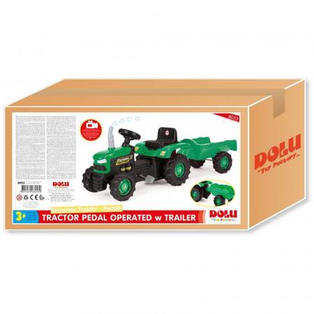 DOLU Tractor cu remorca1
