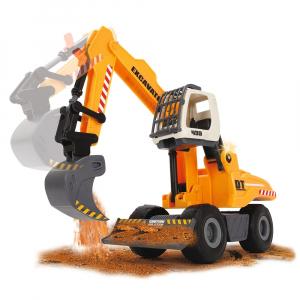 Excavator Dickie Toys DT 433 cu accesorii [3]
