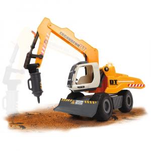 Excavator Dickie Toys DT 433 cu accesorii [5]