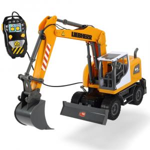 Excavator Dickie Toys Liebherr cu telecomanda0