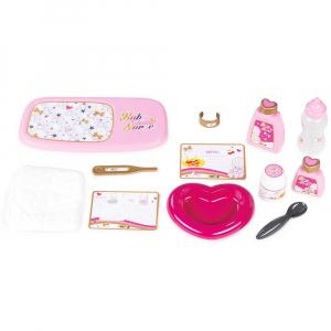 Gentuta pentru ingrijire papusi Smoby Baby Nurse roz2