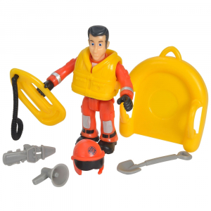 Jet Sky Simba Fireman Sam Juno cu figurina si accesorii6