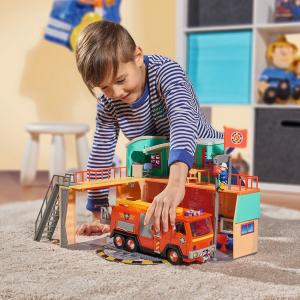 Jucarie Dickie Toys Statie de pompieri Fireman Sam cu figurina si accesorii22