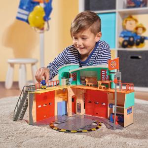 Jucarie Dickie Toys Statie de pompieri Fireman Sam cu figurina si accesorii24