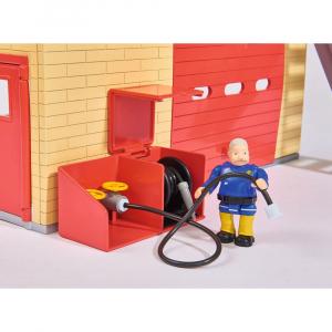 Jucarie Dickie Toys Statie de pompieri Fireman Sam cu figurina si accesorii19