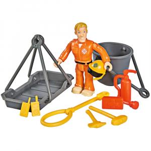 Jucarie Simba Elicopter Fireman Sam Wallaby 2 cu figurine si accesorii4
