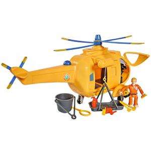 Jucarie Simba Elicopter Fireman Sam Wallaby 2 cu figurine si accesorii1