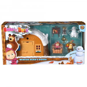 Jucarie Simba Masha and the Bear Winter Bear's House6