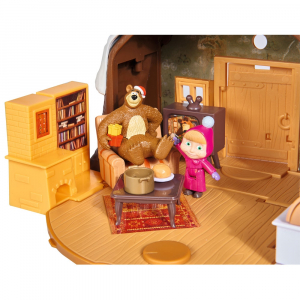 Jucarie Simba Masha and the Bear Winter Bear's House3