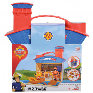 Jucarie Simba Statie salvamar Ocean Rescue Fireman Sam Wasserwacht cu 2 figurine si accesorii [2]