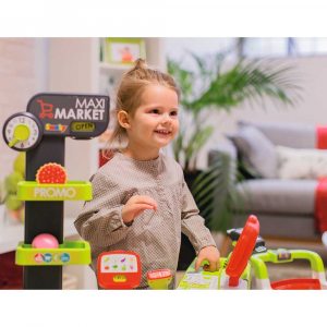 Magazin pentru copii Smoby Maxi Market cu accesorii10